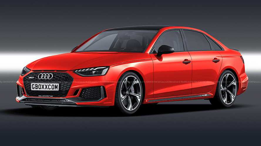 2020 Audi RS4 Rendered As M3 Rivaling Sedan