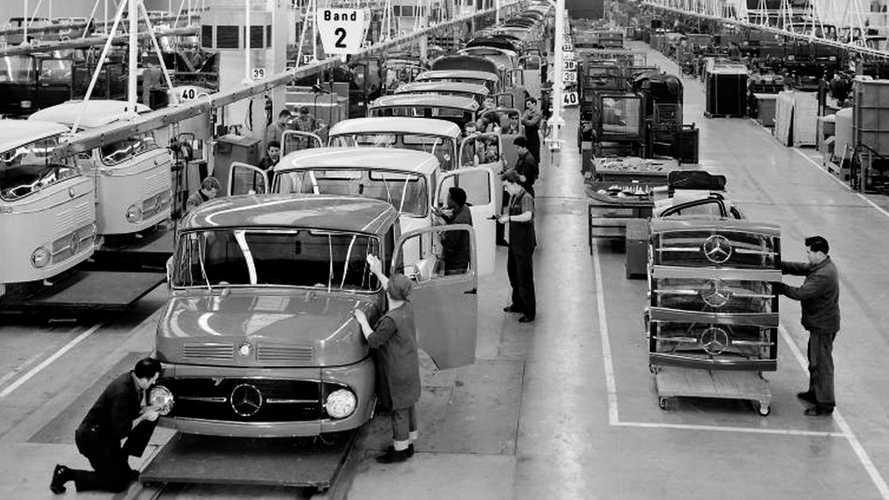 La storica fabbrica Mercedes-Benz di Wörth