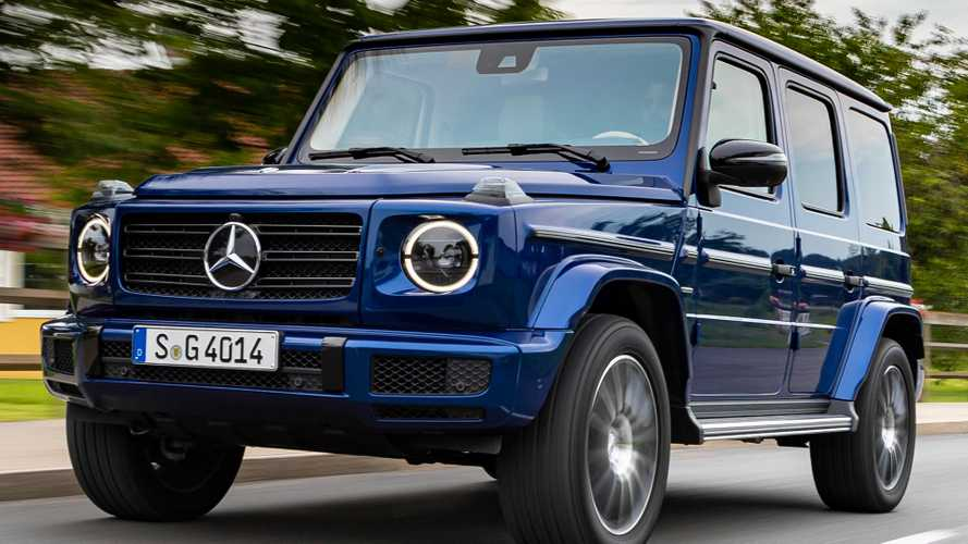 Mercedes G-Class Electric Version Due 'In A Few Years'