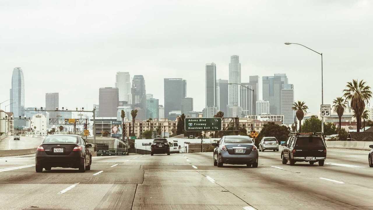 Trafic en Californie (Los angeles)
