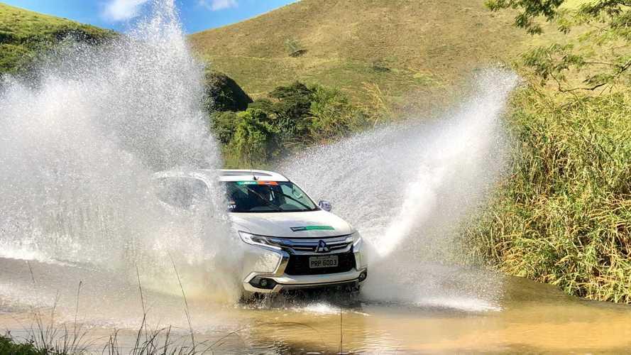 Equipe Motor1.com/Falando de Carro vence categoria e melhor foto no Mitsubishi Outdoor
