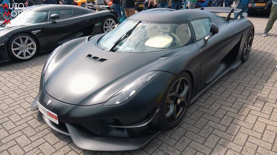 Koenigsegg Regera with Ghost package examined up close in video