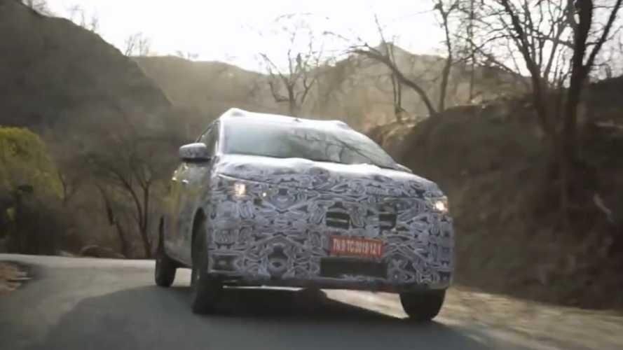 Renault Triber: minivan do Kwid revela detalhes em vídeo-teaser