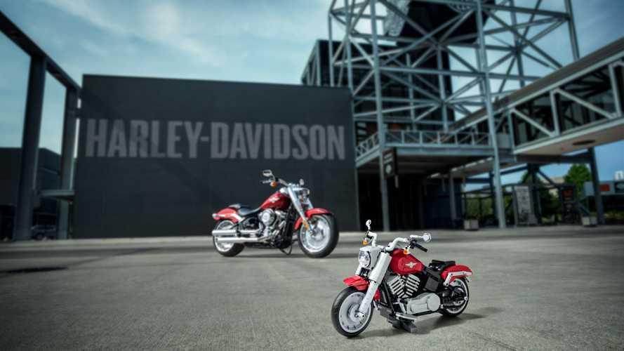 Harley-Davidson e LEGO insieme per una Fat Boy in mattoncini