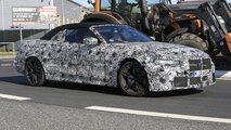 bmw m4 cabriolet spy shots