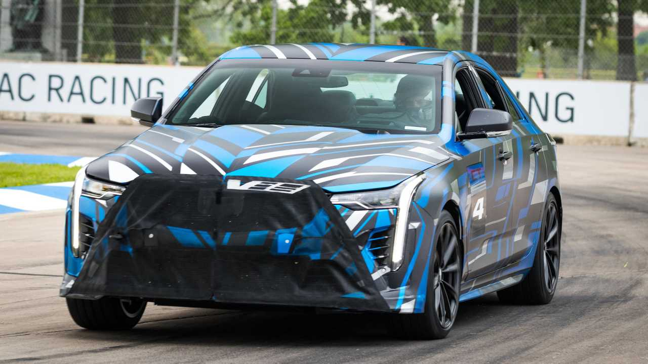 Cadillac Two New V-Series Prototypes
