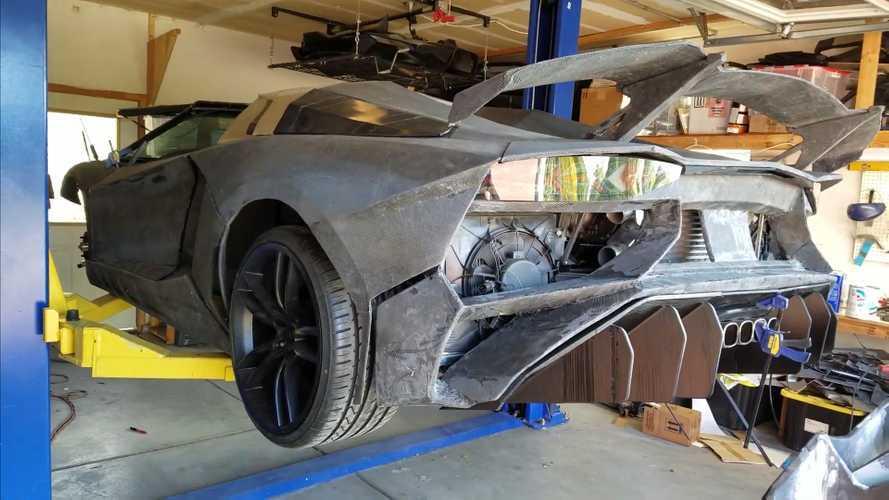 3D Yazıcı ile Lamborghini Aventador üretilebilir mi?