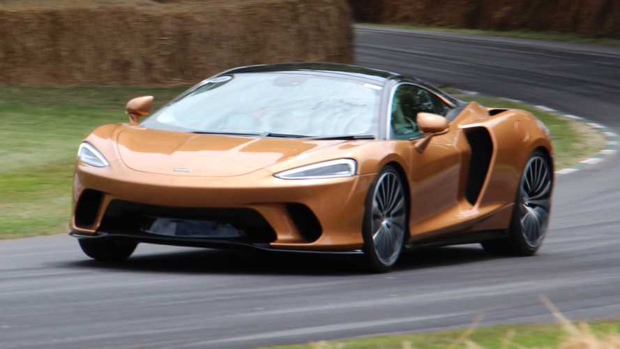 See The McLaren GT In Action At Goodwood Festival Of Speed