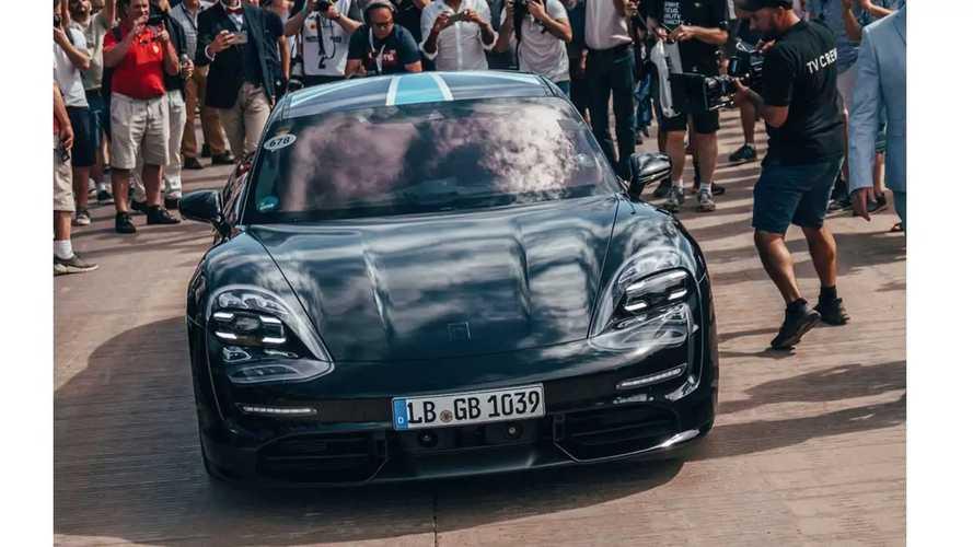 Porsche Taycan - Elle sera présentée au Canada, en Chine et en Allemagne