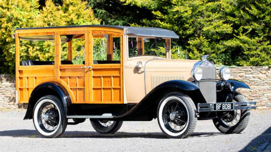 Rare Coachbuilt Ford Model A Woodie Heads To Auction