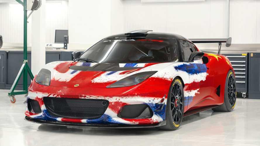 Lotus Evora GT4 Concept - Bientôt prête à en découdre