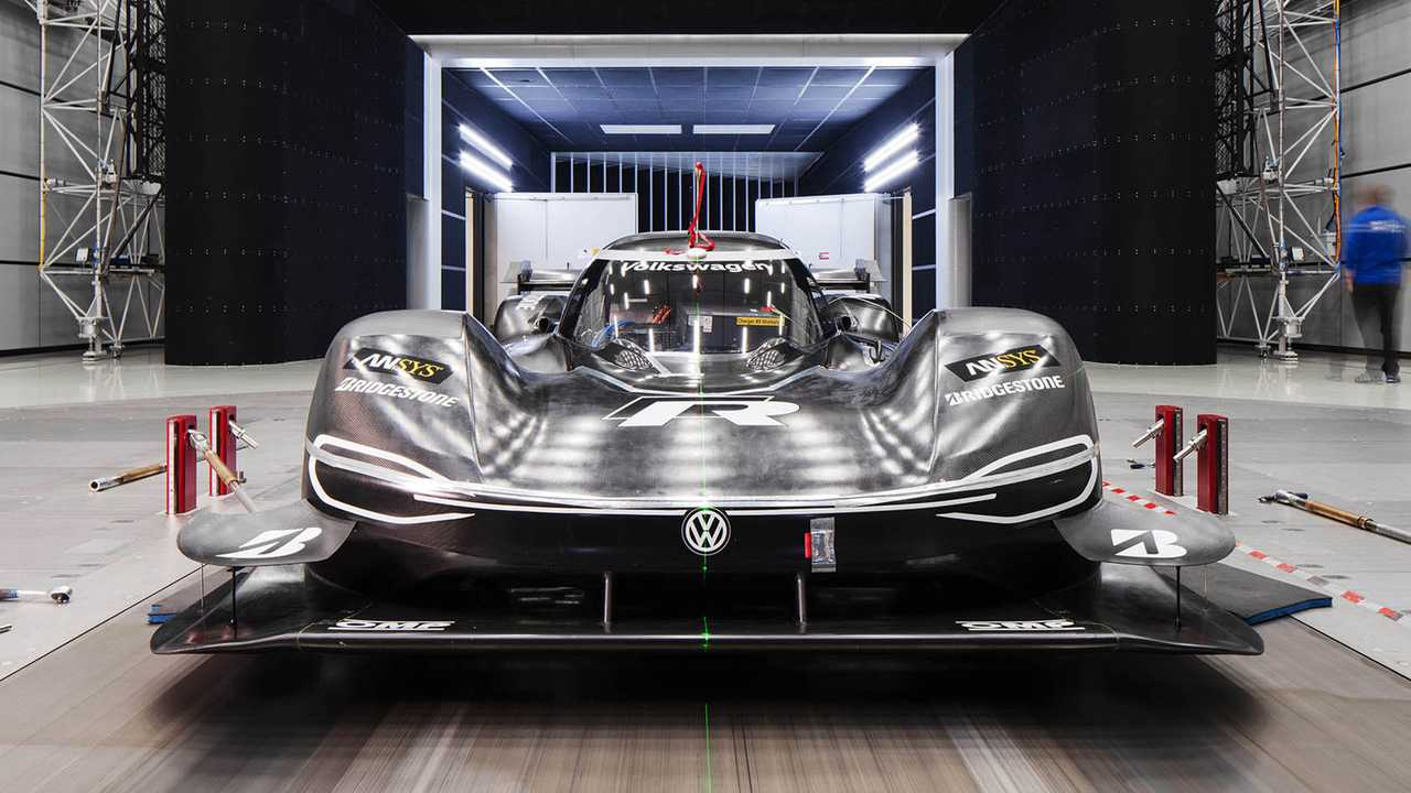 Volkswagen ID R Adds DRS For Electric Nurburgring Record Attempt