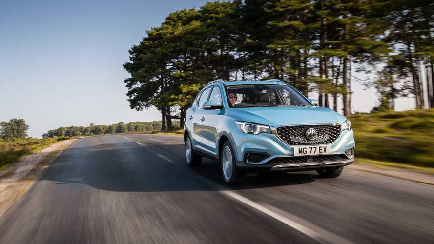 MG returns to Ireland with ZS EV