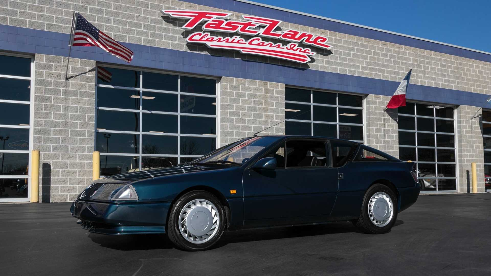 """[""""Beautiful 1990 Renault Alpine GTA Is A Rarity In The States""""]"""