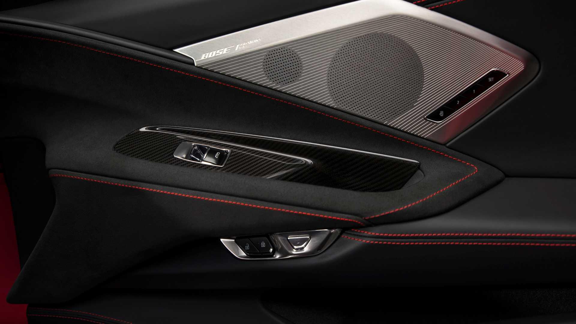 Fits Cadillac CTS 08-13 Carbon Fiber Window B-Pillar Door Pillar Post LS6