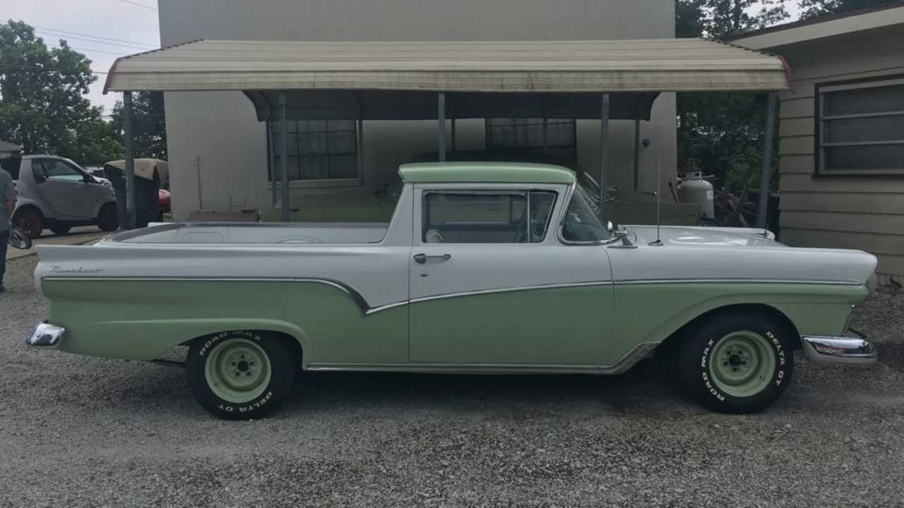 Get Utility And Beauty With A 1957 Ford Ranchero