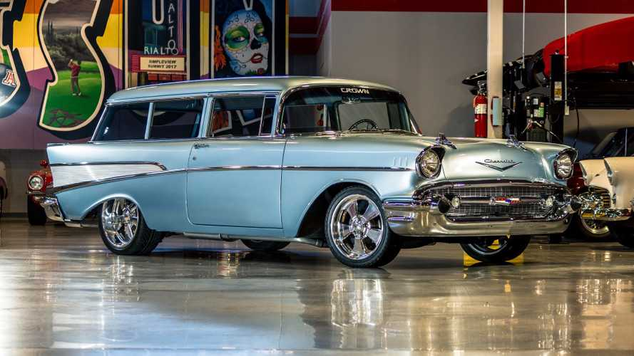 This 1957 Chevrolet Handyman Mixes Old And New