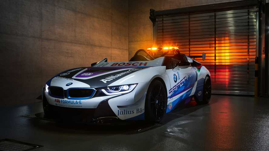 BMW i8 Roadster, la Safety Car della Formule E perde il tetto