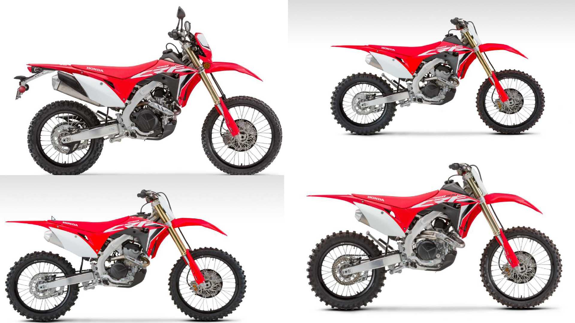 Honda's 2020 Motocross Lineup Is Here For You