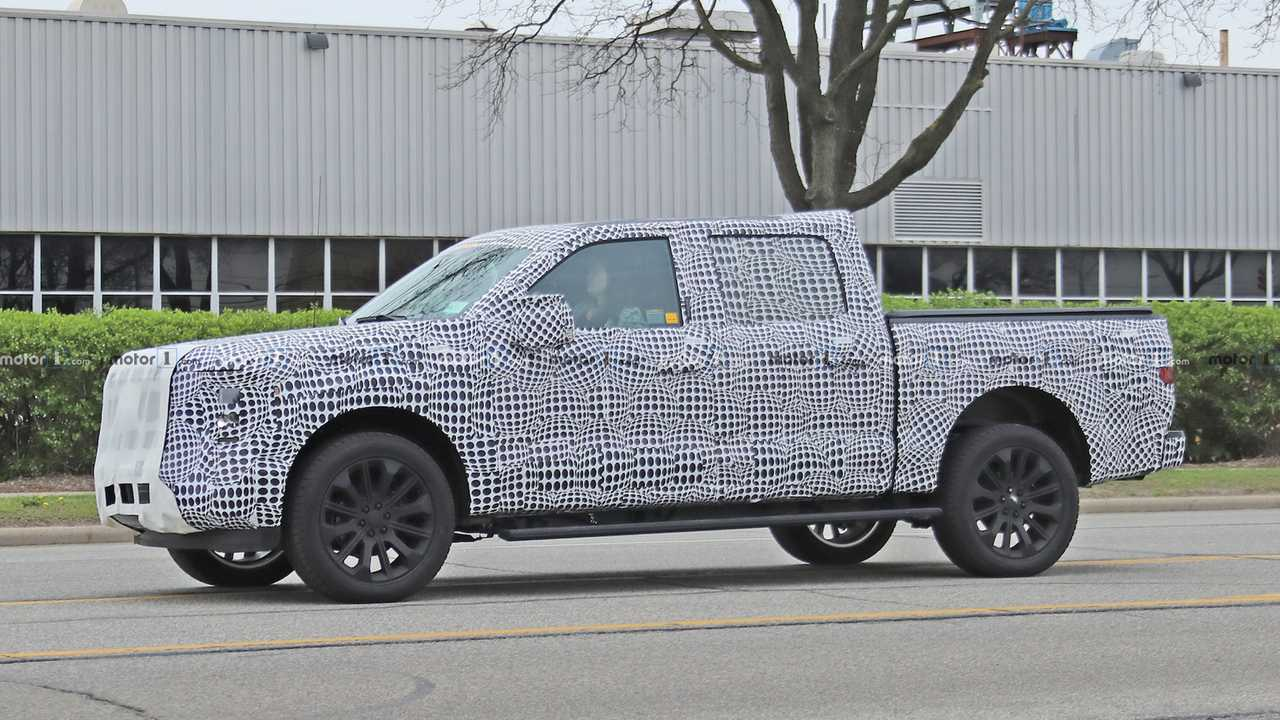 2021 ford f 150 spy shots