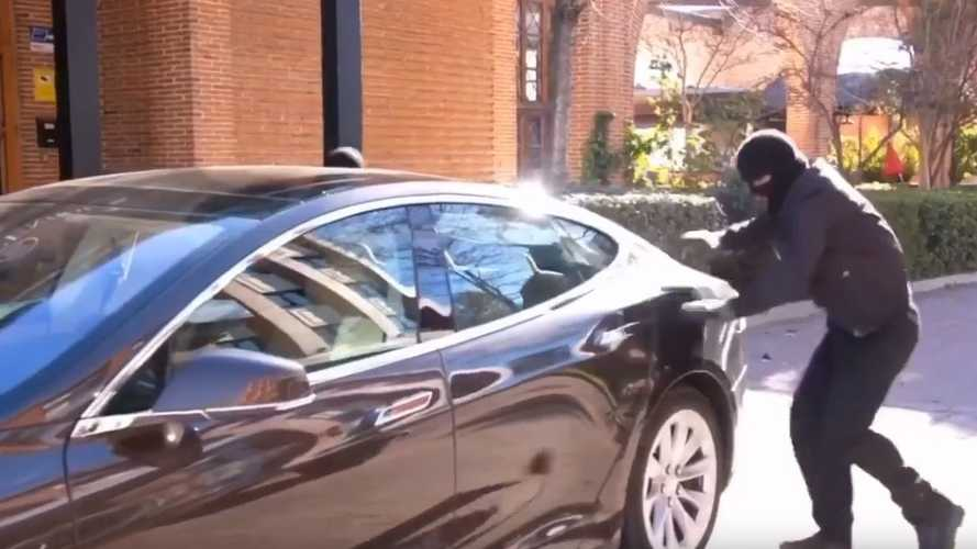 Tesla Robotaxi Getaway Car Imagined In Hilarious Video Skit