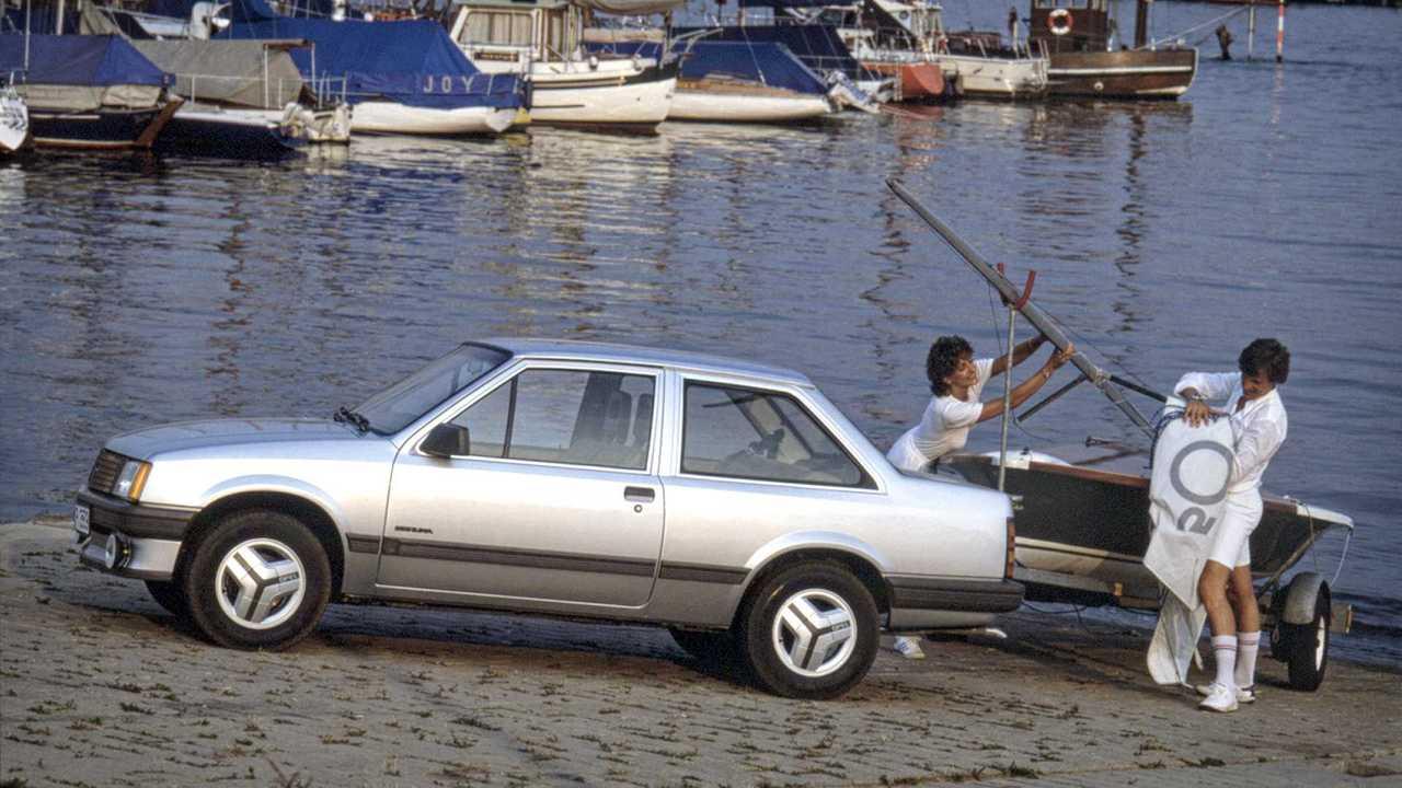 Opel Corsa Historie: Corsa TR (1985)