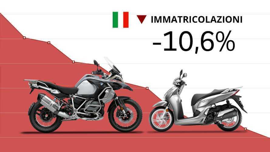 Mercato moto e scooter, a maggio le immatricolazioni scendono