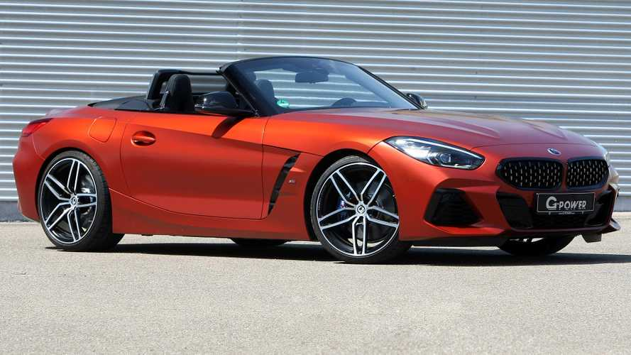 BMW Z4 tuned by G-Power packs nearly 500 bhp