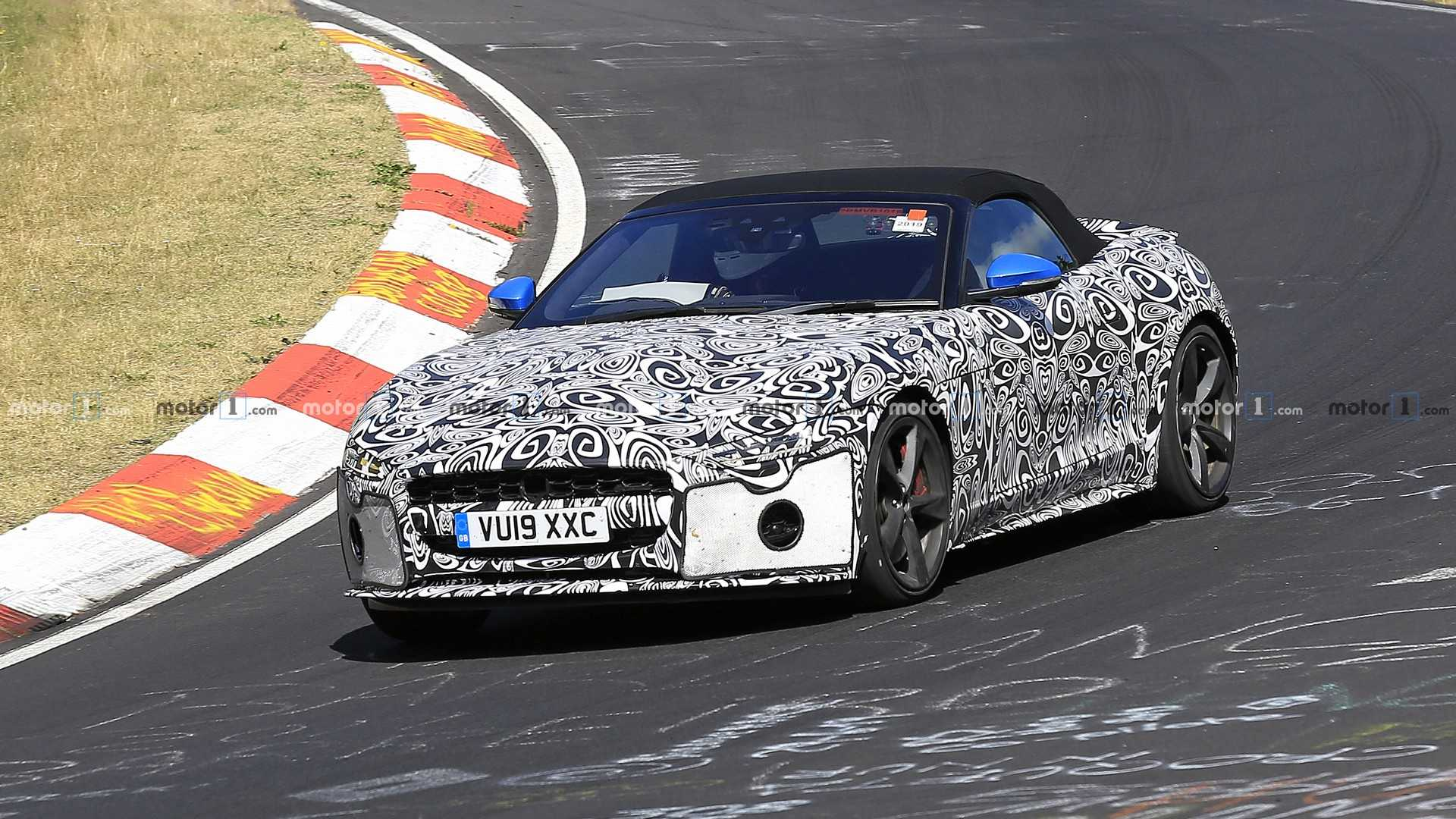 2019 Jaguar F Type Rumors, Release Date, Redesign >> Facelifted Jaguar F Type Coupe Convertible Spied Update