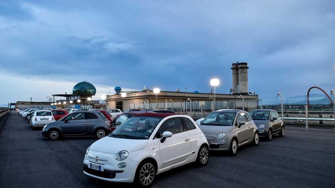 Fiat 500 celebra il compleanno 2019 sul tetto del Lingotto