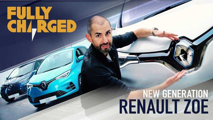 All-New Renault ZOE Z.E. 50 In The Lens Of Fully Charged: Video