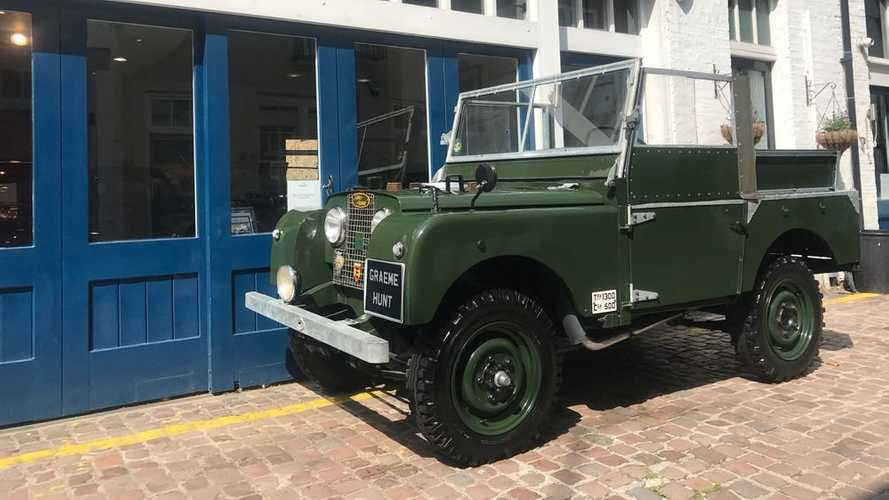 Welcome To The Jungle: 1952 Land Rover Series I