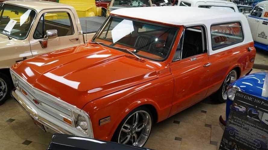 Bold And Bright 1972 Chevrolet K5 Blazer CST