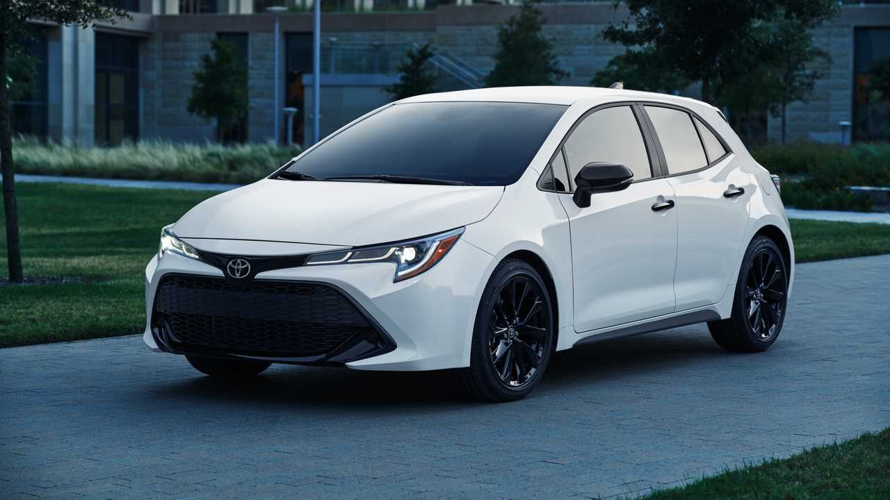 Toyota Corolla Nightshade Editions Join Lineup For 2020