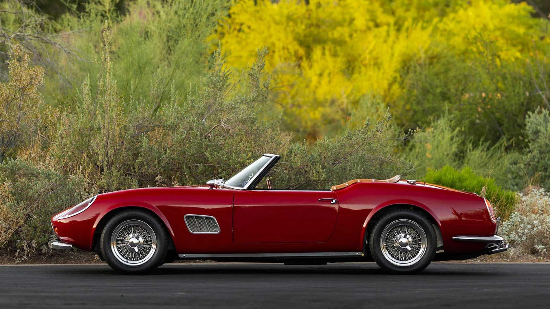 "[""'Ferris Bueller's Day Off' Ferrari Replica Auction""]"