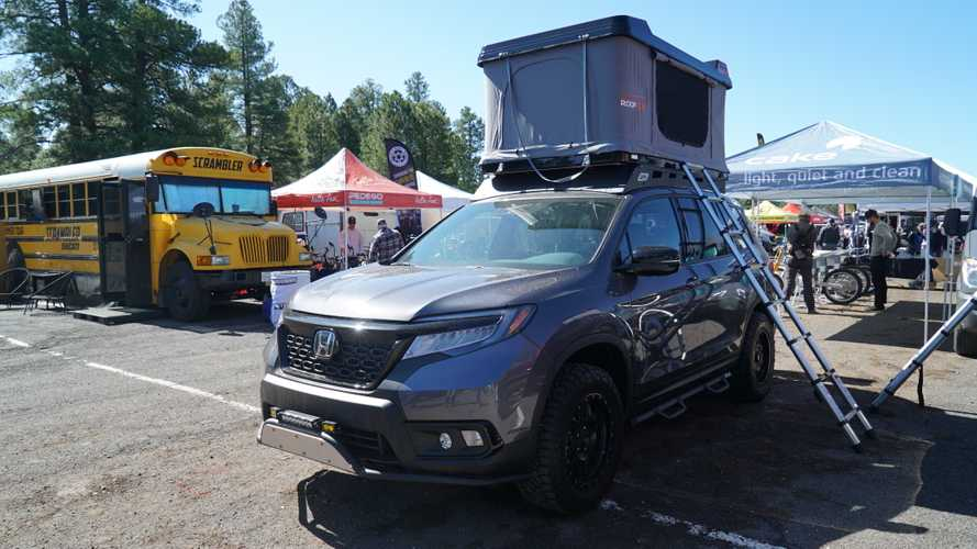 Off-Road-Ready Honda Passport, Ridgeline Debut At Overland Expo [UPDATE]