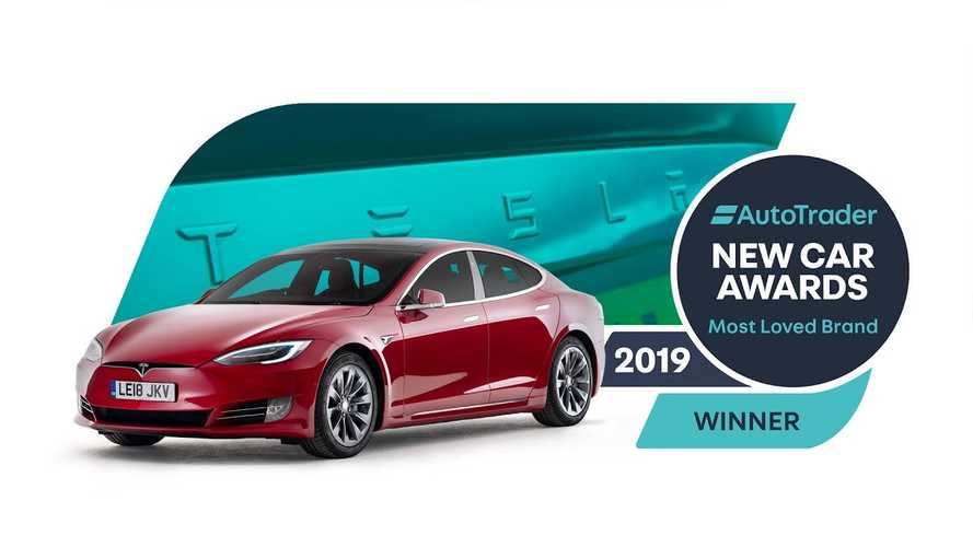 Tesla Receives Auto Trader's 2019 Most Loved Brand Award