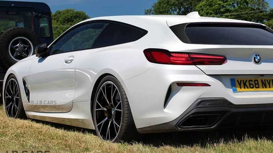 Íme a BMW 8-as Shooting Brake verziója
