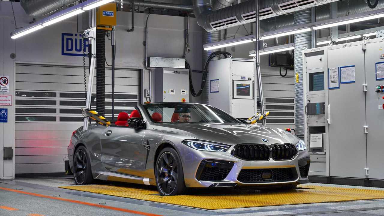 BMW M8 Competition Coupé, M8 Competition Convertible sorozatgyártás