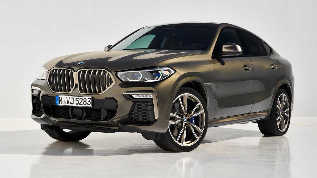 2020 bmw x6 videos put spotlight on m50i and its. Black Bedroom Furniture Sets. Home Design Ideas