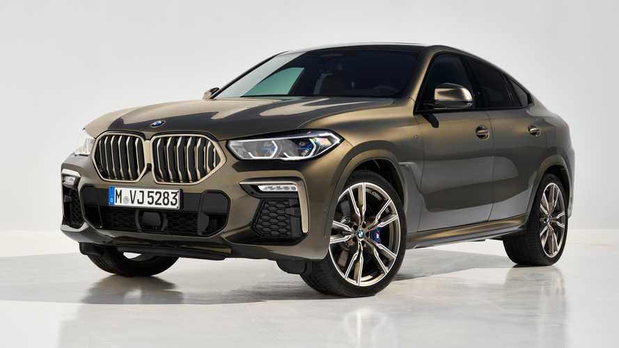 2020 BMW X6 videos put spotlight on M50i and its illuminated grille