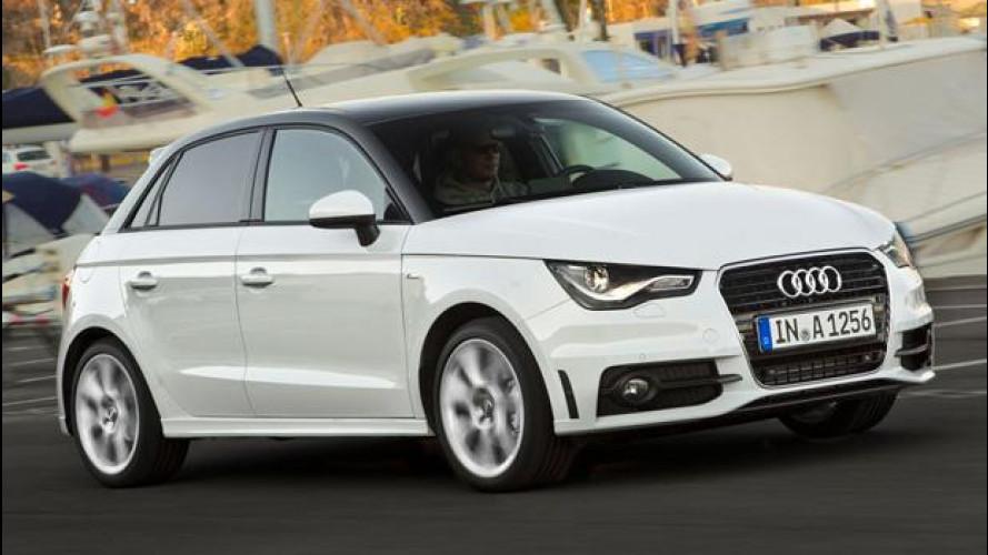 Nuove Audi A1 Sportback 2.0 TDI 143 CV e A6 3.0 TFSI 310 CV