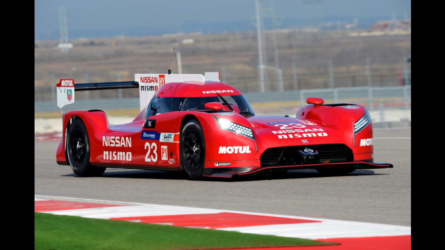 Nissan GT-R LM Nismo, 1.250 CV per Le Mans