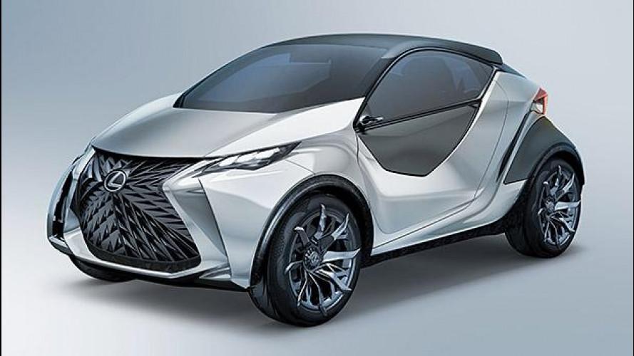 Lexus LF-SA Concept, lusso da città