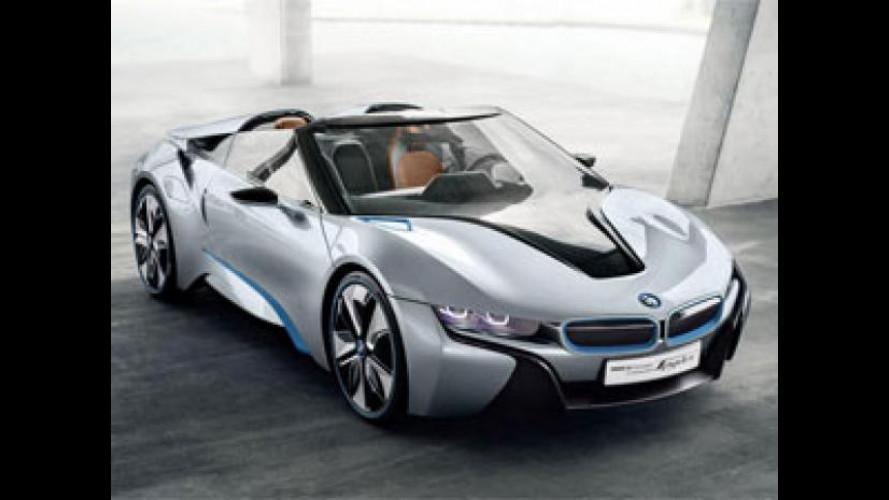 [Copertina] - BMW i8 Concept Spyder protagonista al Mennea Golden Gala di Roma