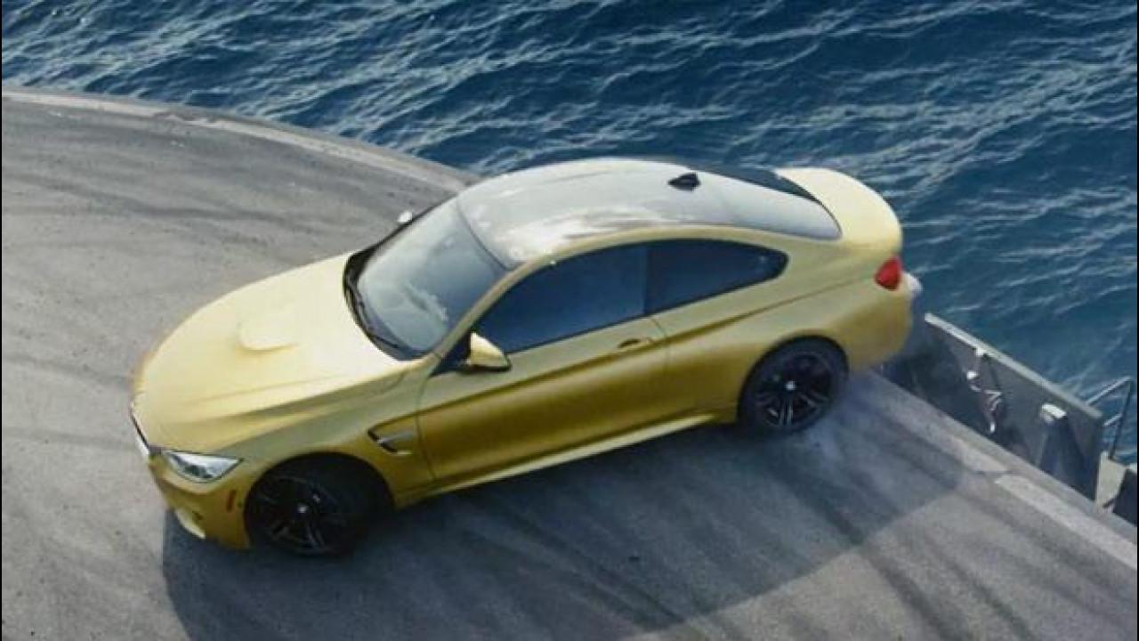 [Copertina] - BMW M4 Coupé, l'acrobata della portaerei [VIDEO]