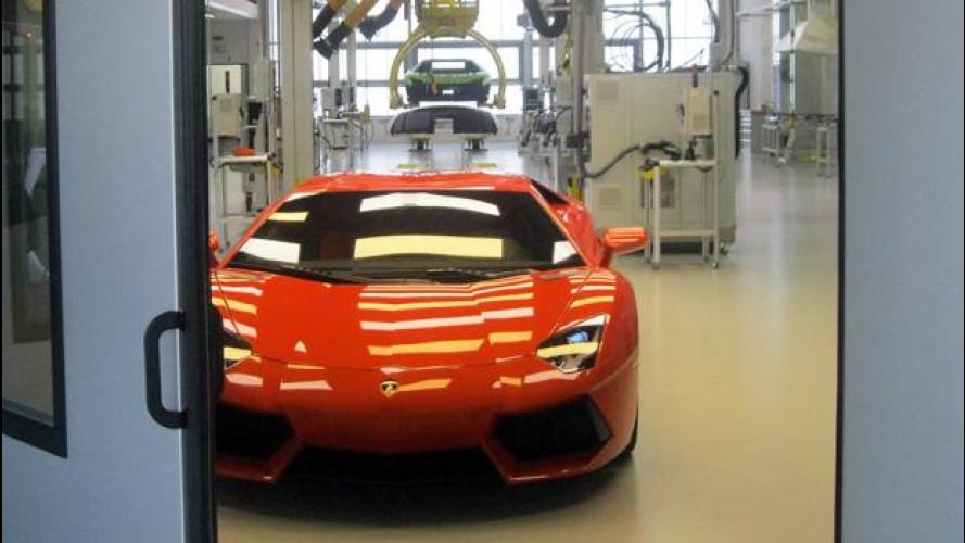 Lamborghini apre un nuovo impianto, sostenibile ed antisismico