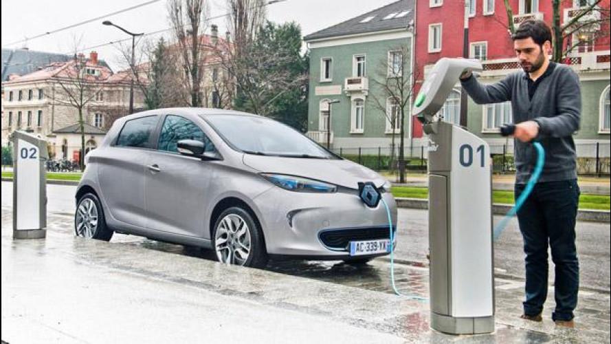 Auto elettriche, boom di vendite per la Renault Zoe