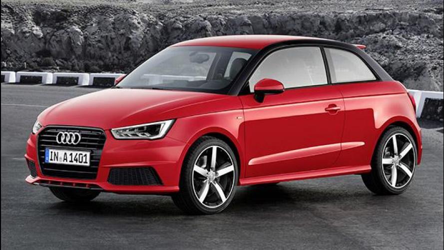 Audi A1 restyling, spunta il tre cilindri