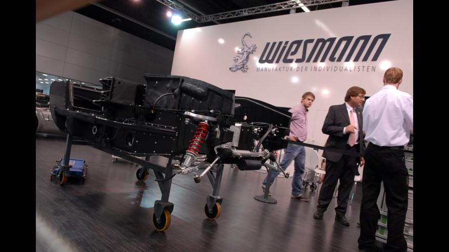 Una Wiesmann MF4 GT costruita in diretta